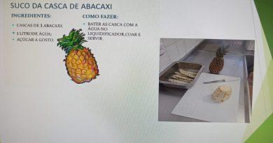 "CASA Rio Novo promove oficina sobre ""Desperdício de Alimentos"""
