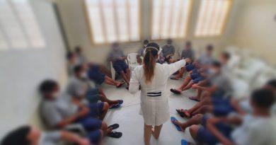 CASA Bernardes promove atividade voltada à Cultura de Paz