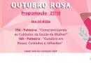 Outubro Rosa: GMST conclui programação com palestras e Dia do Rosa